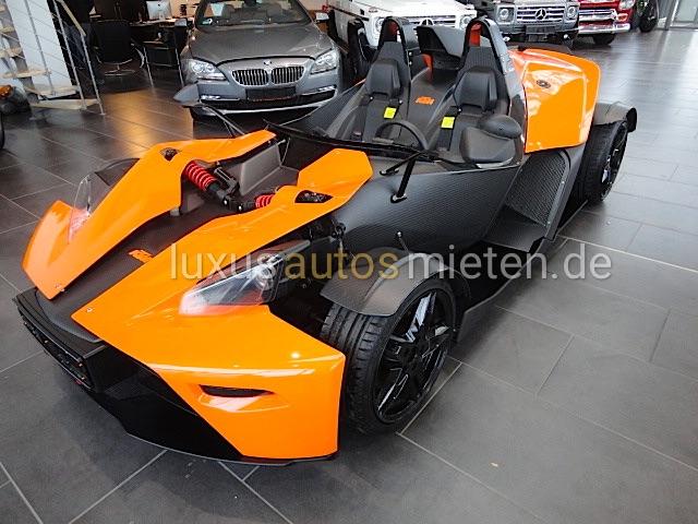 KTM X-BOW mieten