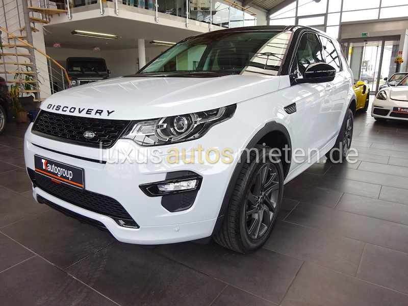 Land Rover Discovery Sport mieten