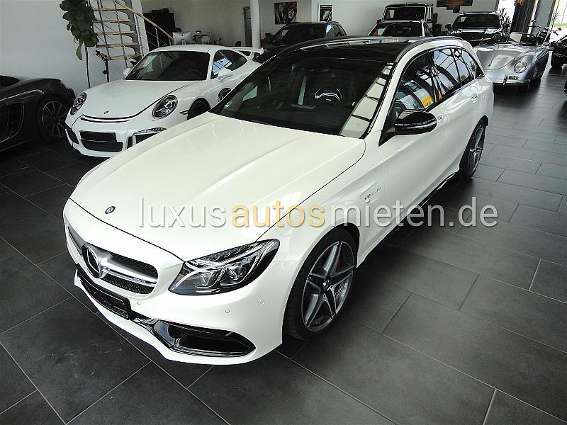 Mercedes-Benz C 63 AMG mieten