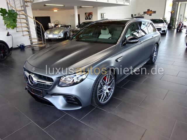 Mercedes-Benz E 63 AMG mieten