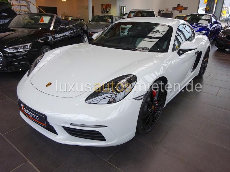 Porsche Cayman mieten