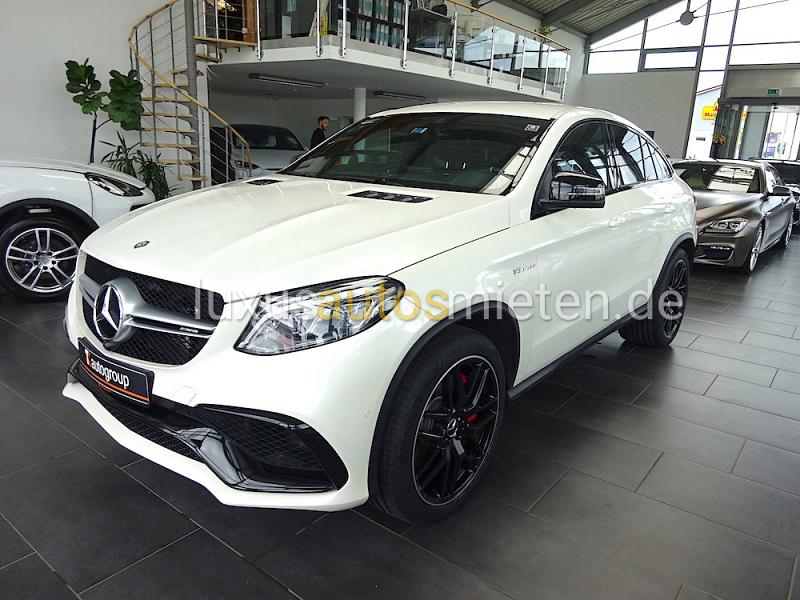 Mercedes-Benz GLE 63 AMG mieten